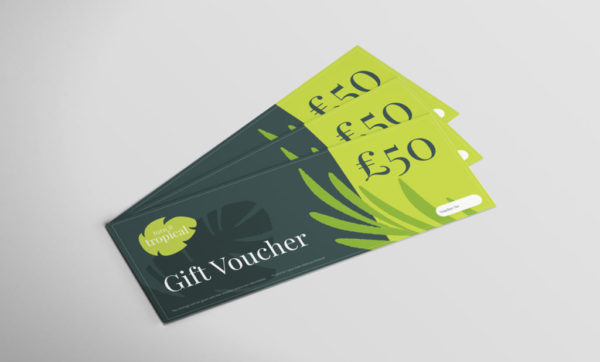 Turn it tropical £50 voucher